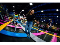 Fly safe and follow below rules on trampoline park