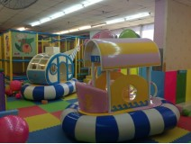 The Indoor Playgrounds is Heaven for Kids