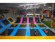 training at trampoline park