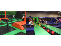 Trampoline Park Prevents Kid from Getting Over-weighted