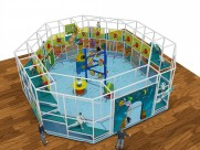 Indoor playground equipment in USA