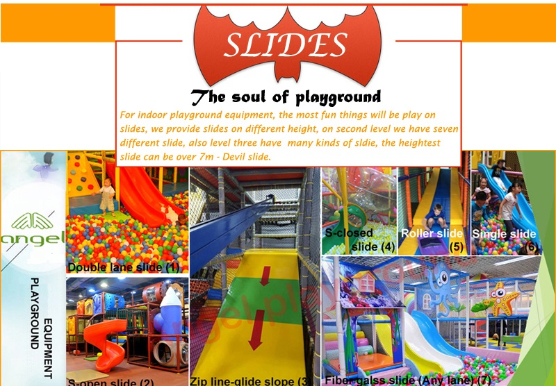 slides for indoor play structures