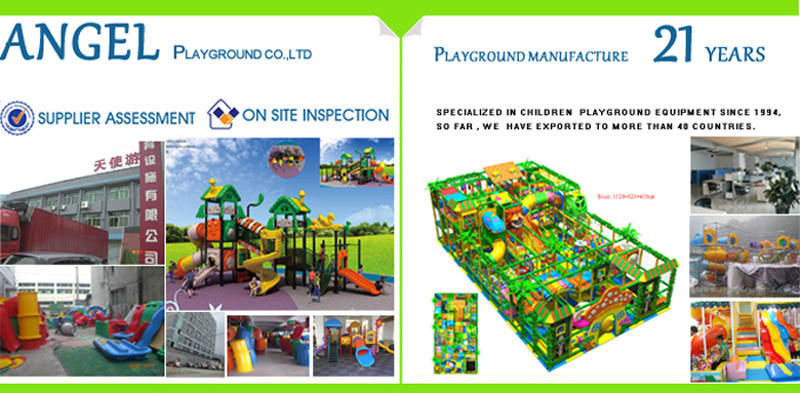 Manufactures of indoor playground - angel playground equipment