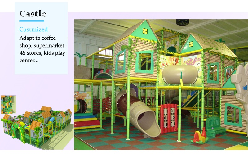 castle theme indoor playsets